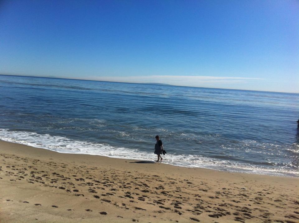 Me on Malibu Beach