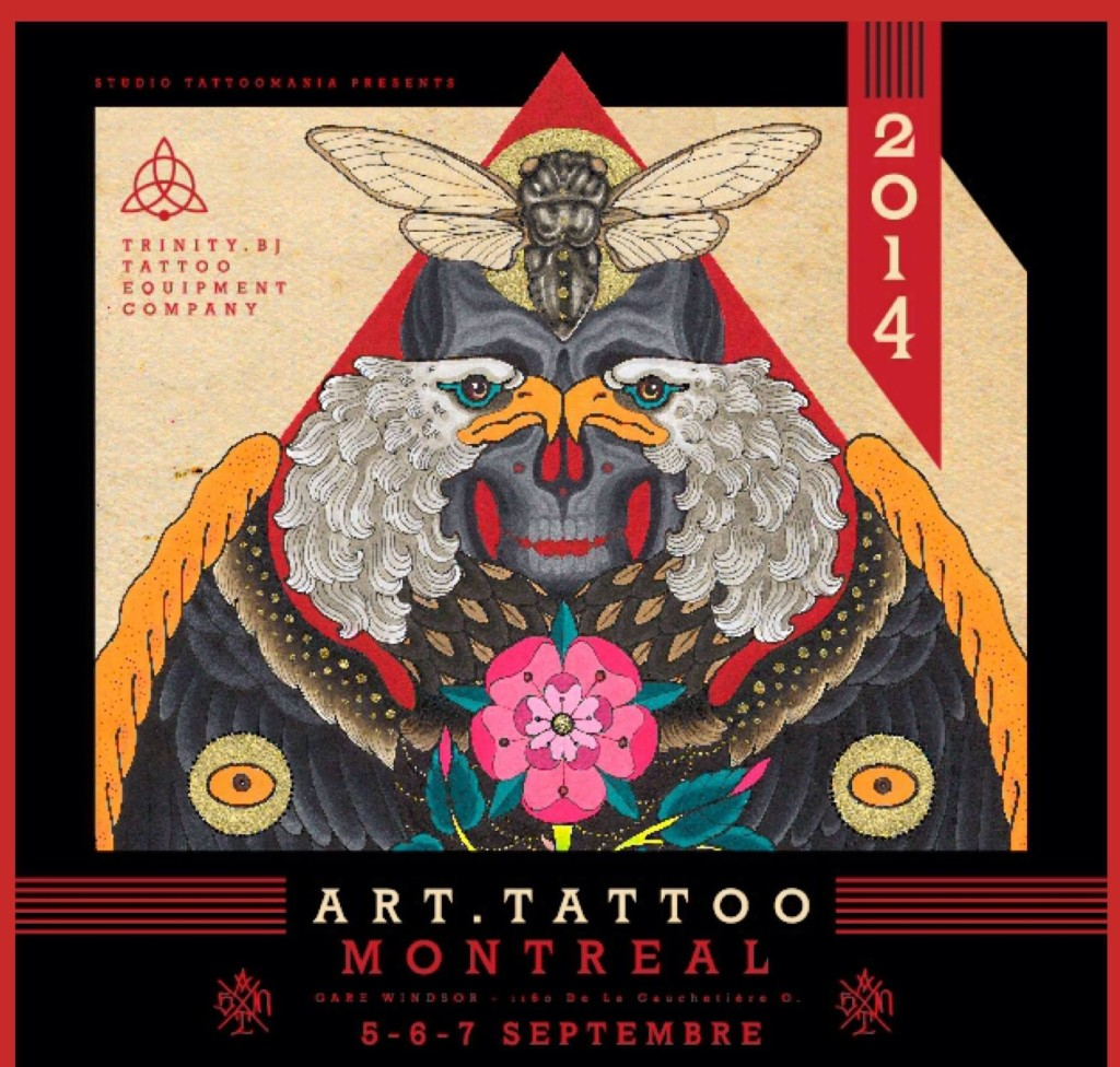 Montreal tattoo art show 2014 smoked meat graffiti for Montreal tattoo artists