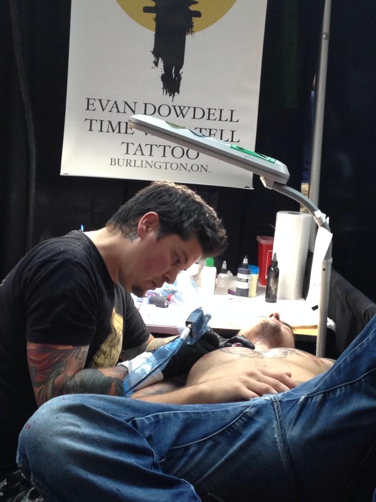 Evan Dowdell-Time Will Tell Tattoo
