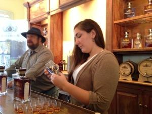Tasting with Master Distiller Dave Pickerell
