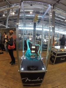 Custom painted Fender guitars