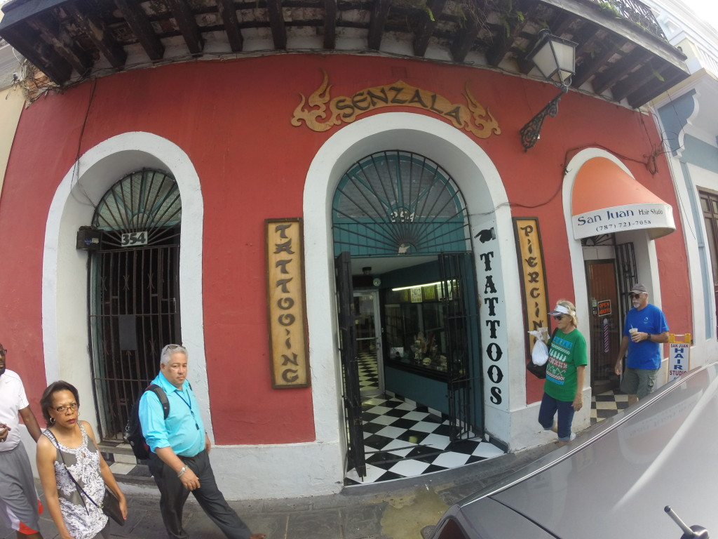 SENZALA TATTOO in Old San Juan, PR