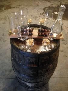 Wine pairing with chocolates